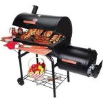 Char-Griller Smokin' Pro Charcoal Grill & Smoker