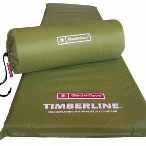 "GlacierDave Timberline - Thermalite Self-Inflating Sleeping Mat 2 1/2"""