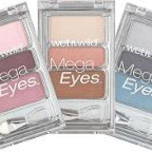 Wet n Wild Mega Eyes Eyeshadow Trio - All Shades
