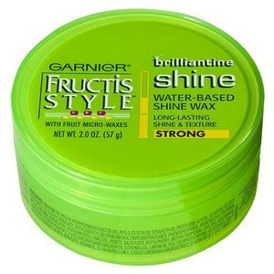 wax hair styling garnier fructis style brilliantine water based shine wax 4570