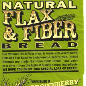 Arnold Natural Flax & Fiber Bread