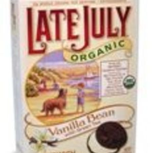 Late July - Vanilla Bean with Green Tea sandwich cookies