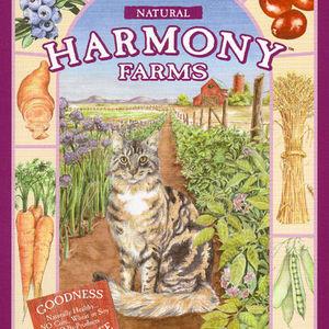 Harmony Farms Cat food--purple bag