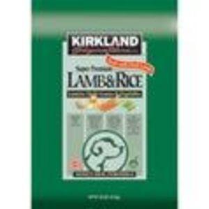 Kirkland Lamb & Rice Dog Food