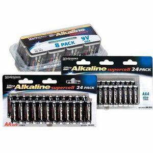 Walgreens - Ultra Alkaline Batteries