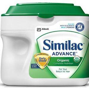 Similac Advance Organic Baby Formula