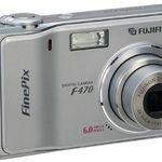 Fujifilm - FinePix F470 Zoom Digital Camera