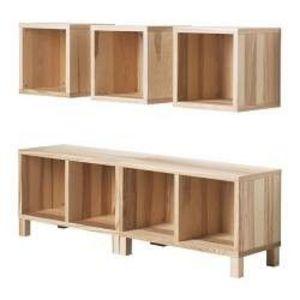 IKEA Traby Storage Cubes