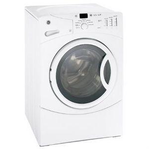 GE Super Capacity Front Load Washer WBVH5100HWW