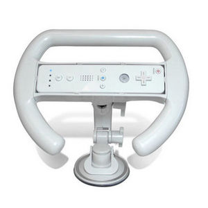 Nintendo - Wii Digital Steering Wheel Controller