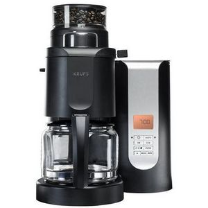 Krups 10-Cup Grind-and-Brew Coffee Maker