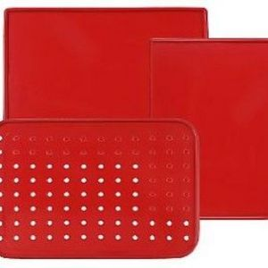 Technique 3-Piece Silicone Baking and Roasting Board Set