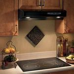 Broan Allure QS130BL 30 Inch Black Kitchen Range