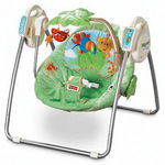 Fisher-Price Rain Forest Take-Along Swing