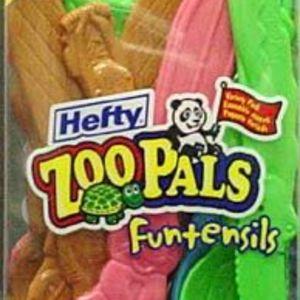 Hefty ZooPals Funtensils