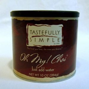 Tastefully Simple Oh My Chai!