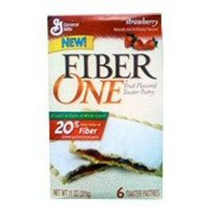Fiber One Toaster Pastry Strawberry