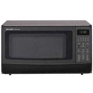 Sharp 1100 Watt 1.4 Cubic Feet Carousel Microwave Oven 410LW