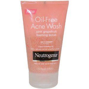 Neutrogena Oil-Free Acne Wash Pink Grapefruit Foaming Scrub