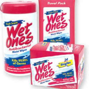 Wet Ones Fresh Scent Antibacterial Moist Wipes
