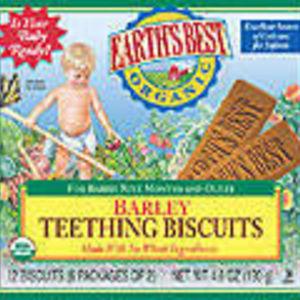 Earth's Best Barley Teething Biscuits