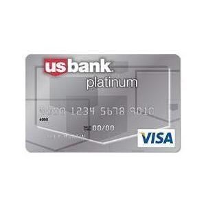 U.S. Bank - Platinum Visa Card