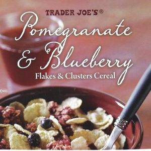 Trader Joe's Pomegranate & Blueberry Flakes & Clusters Cereal