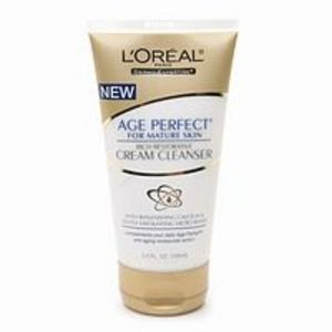L'Oreal Age Perfect Rich Restorative Cream Cleanser, For Mature Skin