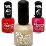 Rimmel London 60 Seconds Nail Polish - All Shades