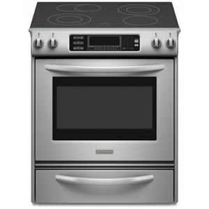 KitchenAid Slide-In Electric Range