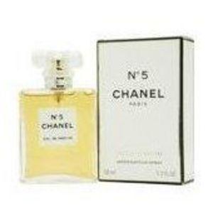 Chanel No. 5 - 1.7 oz Eau de Parfum Spray Classic Bottle (Unboxed)