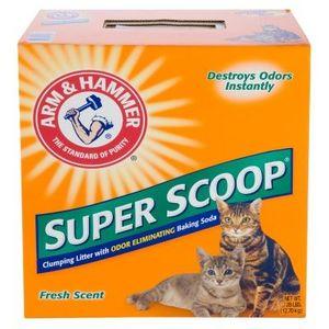Arm & Hammer Super Scoop Fresh Scent Clumping Cat Litter