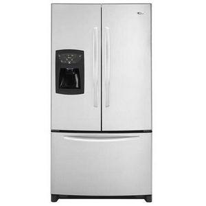 Amana French Door Refrigerator AFI2538AEW AFI2538AEB