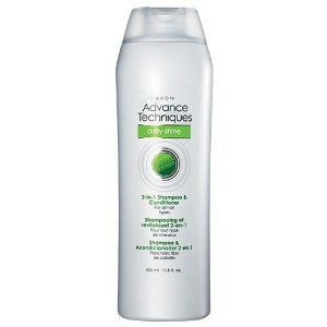 Avon Advance Techniques Daily Shine 2-in-1 Shampoo & Conditioner