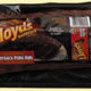 Lloyd's Barbeque Company Babyback Pork Ribs with Original BBQ sauce