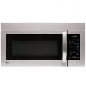LG 1000 Watt 1.6 Cubic Feet Over-the-Range Microwave Oven