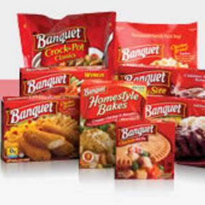 Banquet tv dinners