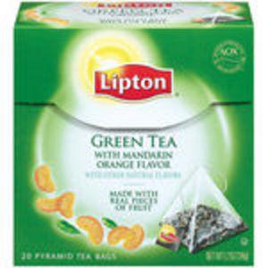 Lipton - Green Tea with Mandarin Orange Flavor