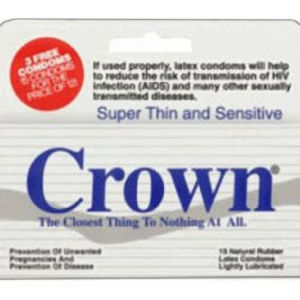 Crown Skin Less Skin Condoms