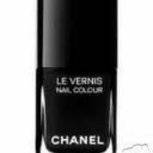 Chanel Les Vernis Nail Colour - Black Ceramic #337