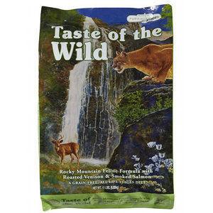 Taste of the Wild Rocky Mountain Feline Formula - Roasted Venison & Smoked Salmon