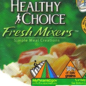 Healthy Choice Sweet & Sour Chicken Fresh Mixers