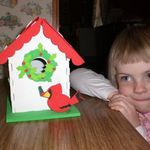 Darice Foamies 3D Foam Bird House Kit