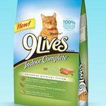 9 Lives Indoor Complete Dry Cat Food