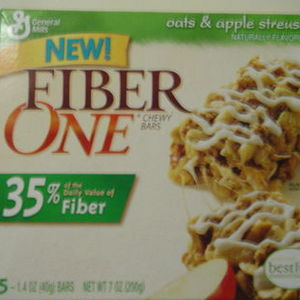 Fiber One - Oats and Apple Streusel Chewy Bars