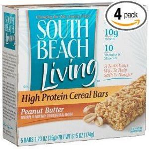 Kraft - South Beach Living High Protein Cereal Bar