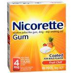 Nicorette Fruit Chill Gum