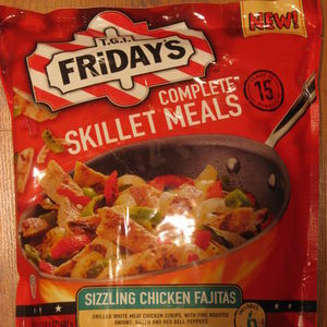 T.G.I. Friday's Complete Skillet Meals - Sizzling Chicken Fajitas