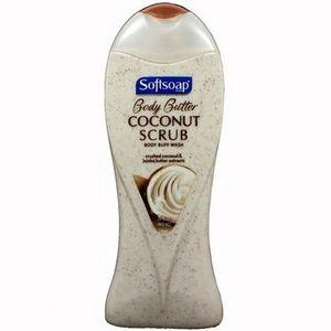 Softsoap Body Butter Coconut Scrub Body Wash