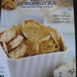 Trader Joe's - Roasted Gorgonzola Flavored Oven Crisp Crackers